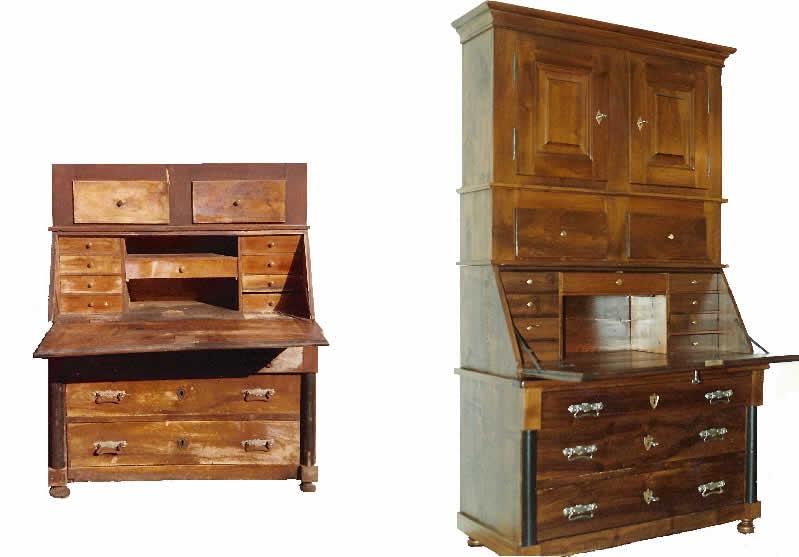 alte mobel restaurieren ersatzteile creatieve idee n voor huisontwerp en meubels. Black Bedroom Furniture Sets. Home Design Ideas